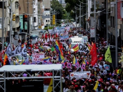 The Maduro government held a massive march for the International Day for the Elimination of Violence Against Women.
